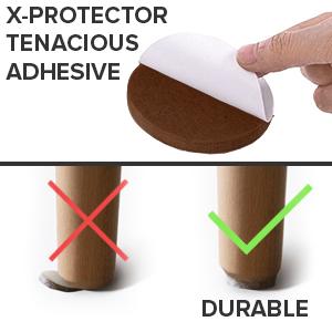 x-protector furniture pads chair leg floor protectors furniture sliders felt furniture pads