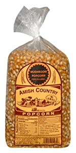 Mushroom Kernels Amish Country Popcorn Old Fashioned Microwave Stovetop