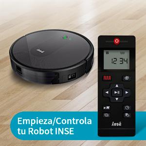 INSE Aspirador Robot Mascotas, Suelos Duros y Alfombras,1800 Pa ...