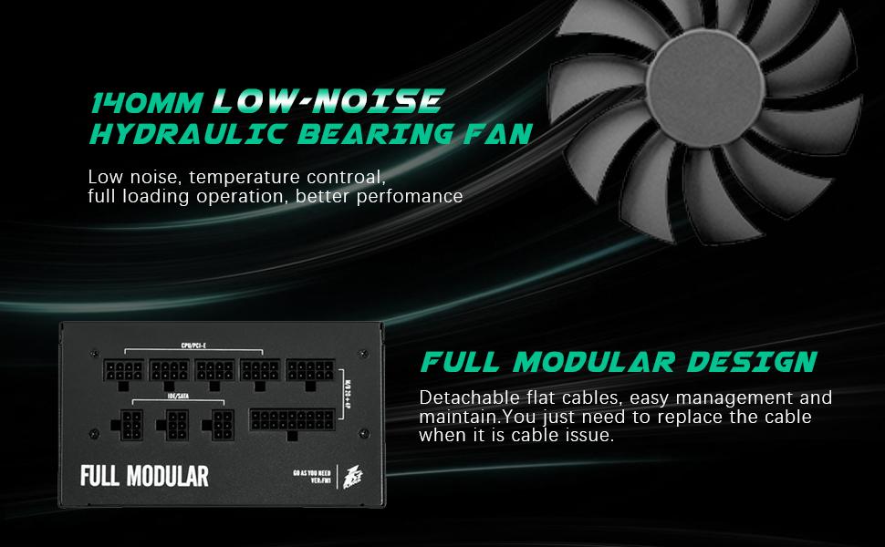fully modular power supply