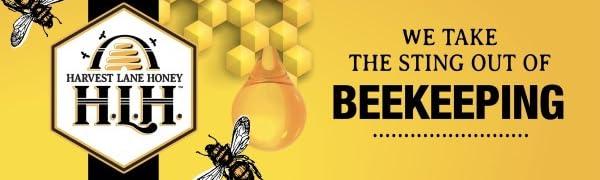 Harvest Lane Honey lb 15/% Pollen Pattie