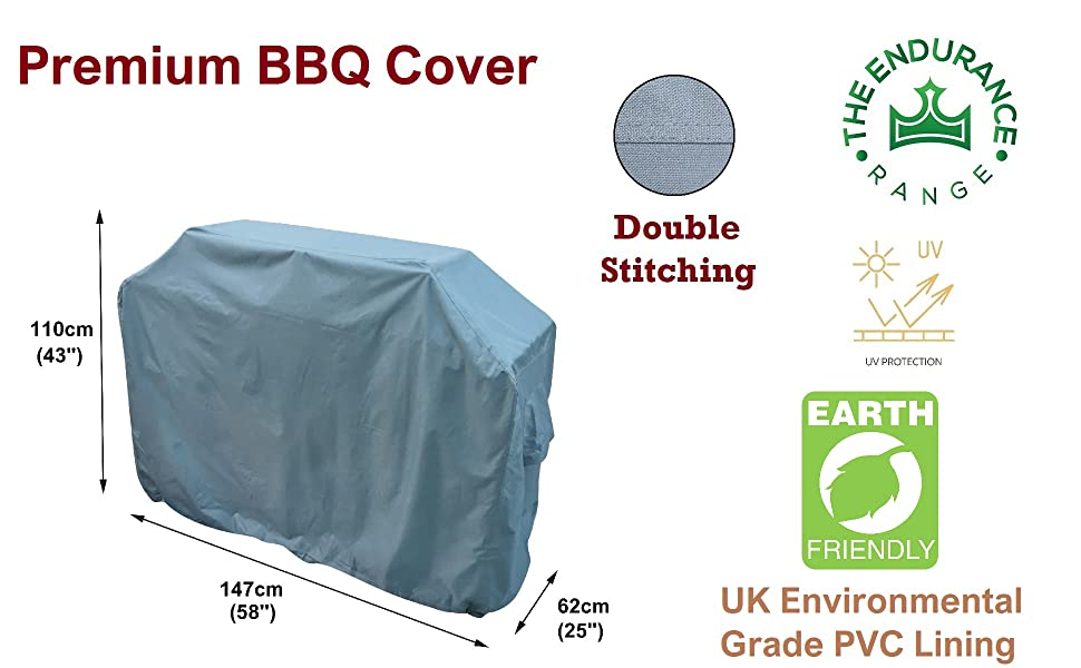 bbq barbecue barbeque large grill extra cover waterproof 3 4 6 burner quality strong durable