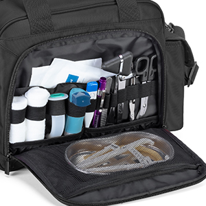 first aid kit bag empty