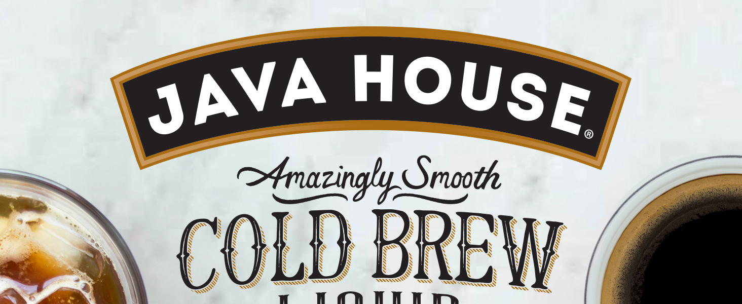 Java House Cold Brew Coffee Concentrate liquid pods