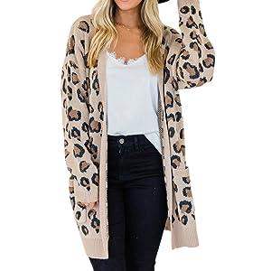 Animal Leopard Cardigan