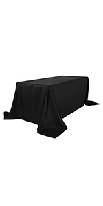 90156 black table cloth