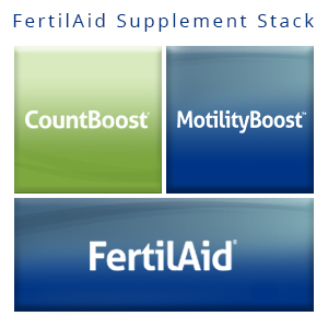 CountBoost, Motility Boost, customizable male fertility supplement, male infertility, fairhaven