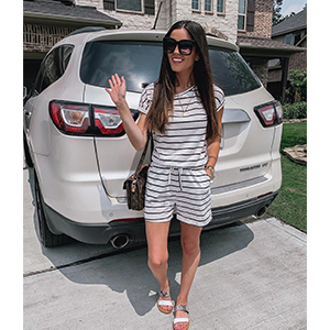 Off Shoulder Short Sleeve Shorts Loose Jumpsuit Rompers Casual Pajamas with Pockets