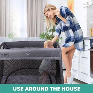 convenient, baby crib, baby portable crib