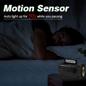 Reading Lamp with Motion Sensor