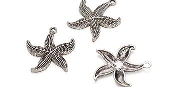 vintage retro bali style nautical beach pendants for summer jewelry making