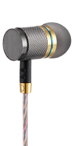 Betron YSM1000 Noise isolating earphones heavy bass metal earpiece