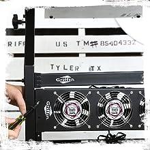 mixer amp rack