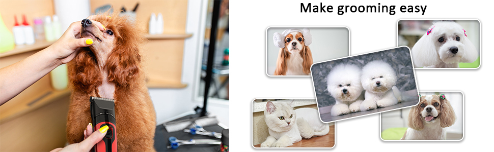 grooming easy hair clippers dog clippers pet clippers
