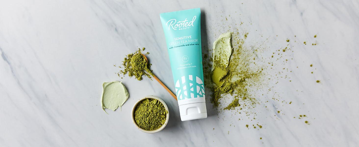 green tea skincare beauty