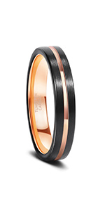 Tungsten Ring Silver