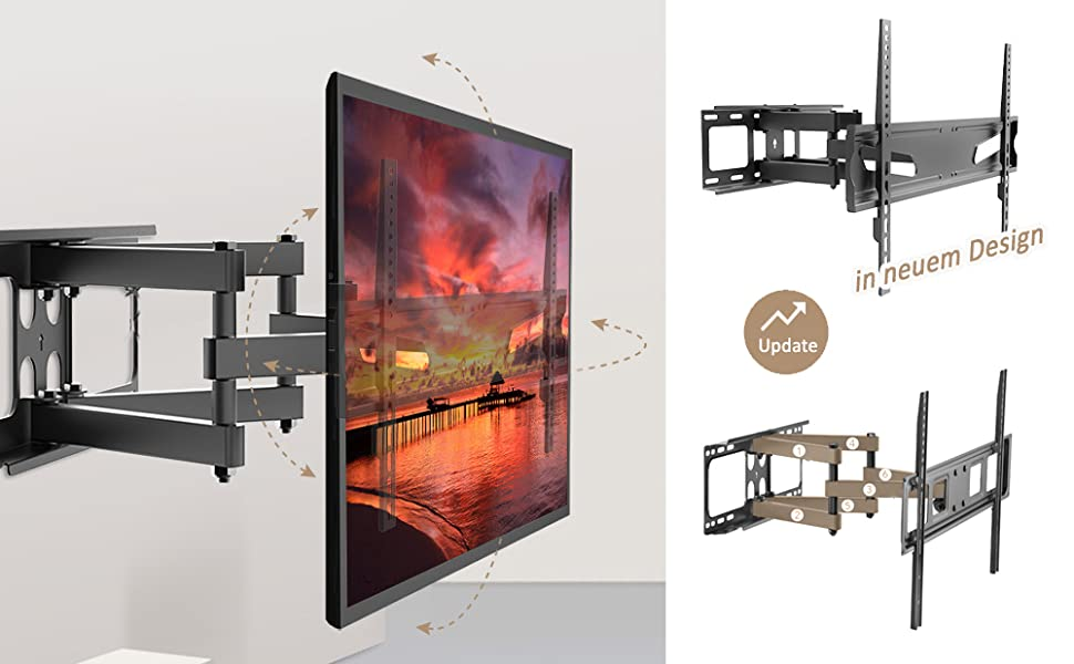 TV Wandhalterung LCD LED Fernseher 32 40 43 50 55 65 70 Zoll Samsung Telefunken