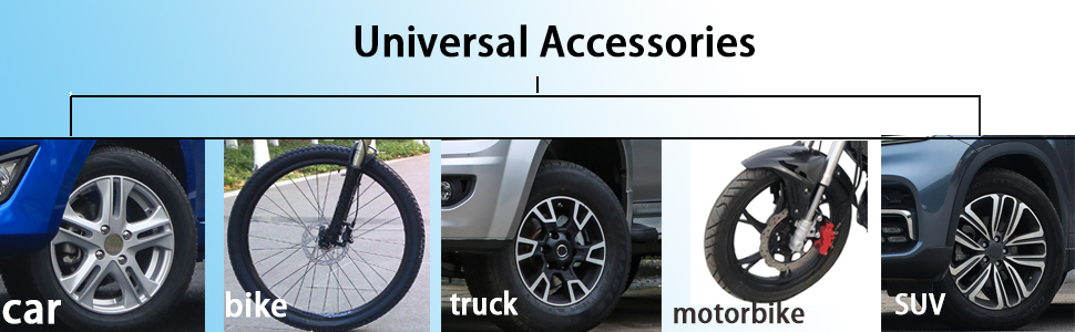 Arenbel 4 Pack Tire Valve Stem Caps Alloy Aluminum Metal Rubber Seal Tire Valve Stem Caps Truck Dust Proof Covers Universal fit for Car Bike and Bicycle SUV Gray