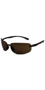 In Style Eyes Original Maui Wrap bifocal reading sunglasses for men, women. Reader Sunnies.