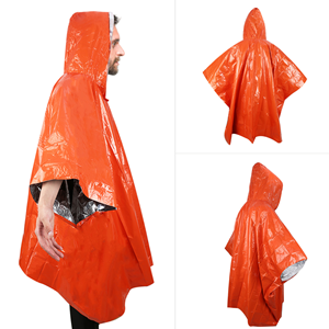 Heat Reflective Blanket Poncho