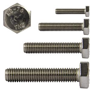 rostfrei DERING Sechskantschrauben M6x16 DIN 933 Edelstahl A2 Sechskant-Schrauben 10 St/ück | Gewindeschrauben