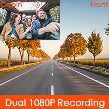 Dual 1080P Dash Cam