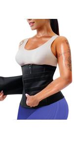 Damen Tailenmieder Neopren Bauchweggürtel