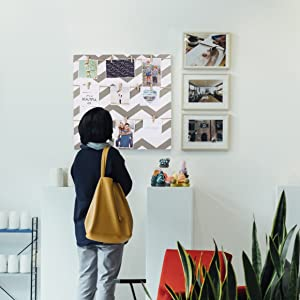Clip on picture frames