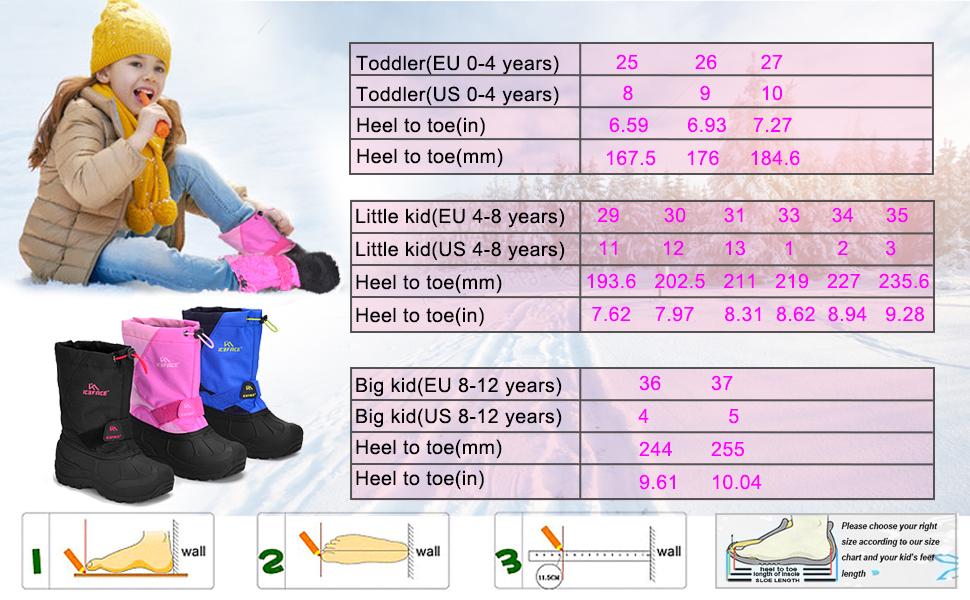 Amazon.com: ICEFACE Winter Snow Boots
