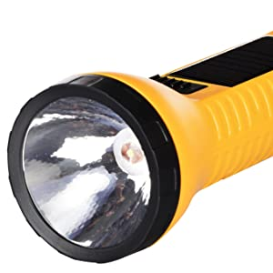 SOLAR TORCH LIGHT WORKING TIME