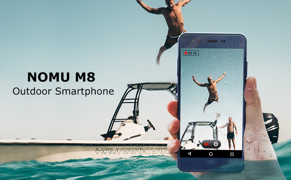 Moviles Resistentes, IP68 Impermeable Smartphone Libres Nomu M8 ...