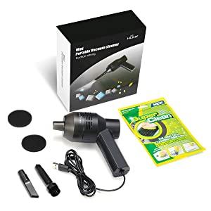 Mini aspirateur USB avec brosse pour le nettoyage du clavier et de la poussière