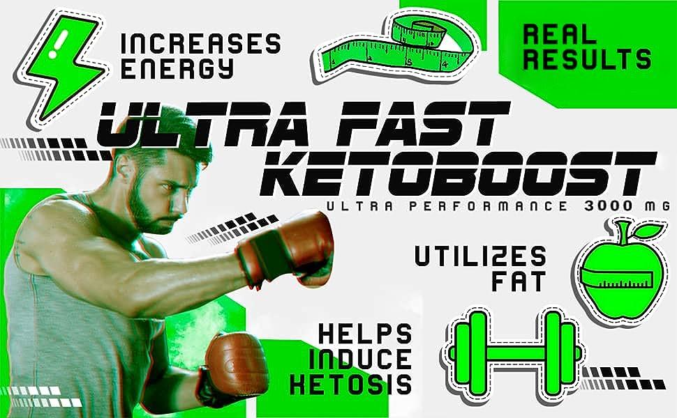 Diet Pills Best Keto Burn Men Women Fast Thermogenic Weight Loss BHB Ketone Night Energy Boost