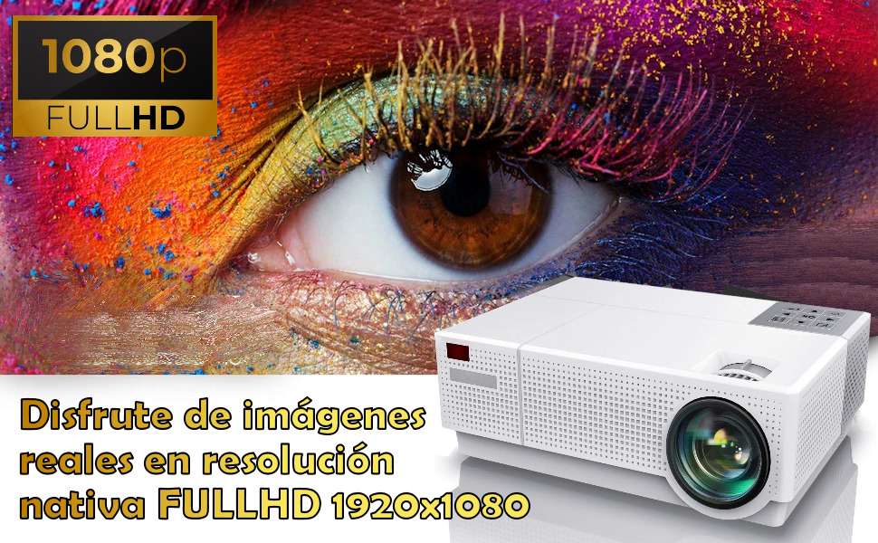 proyector 4k nativo, fullhd, cine en casa, full hd, portatil, lampara led, 90.000 horas, zoom digita