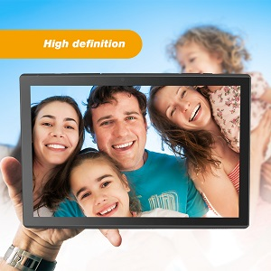 tablet with dual cameras