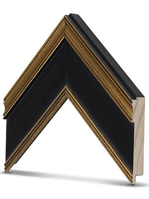 Antique Gold & Black frame