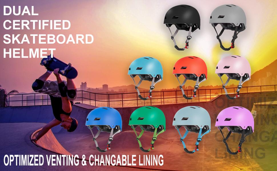 bike skateboard helmet