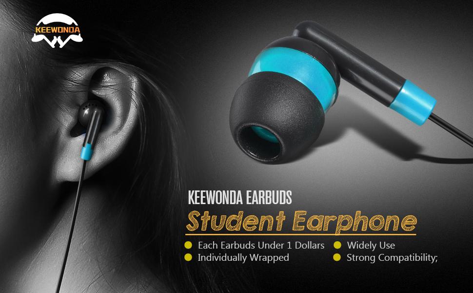 bulk earbuds 100 pack