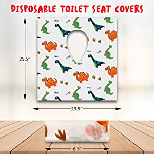 disposable toilet seat cover for kids and toddlers