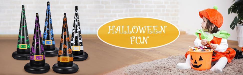 Halloween Ring Toss Game Set