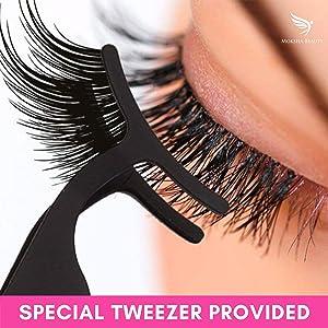 moksha magnetic eyelashes temporary eye lash long lashes extra long eye lashes magnetic eyelashes