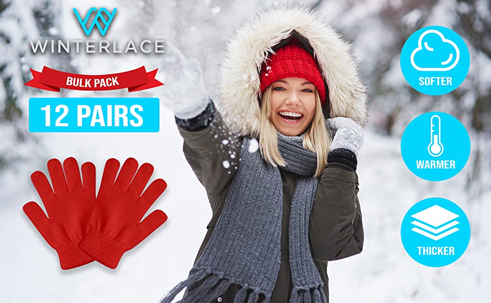 warm winter magic gloves