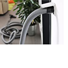 inlet wall central vacuum system cleaner hose