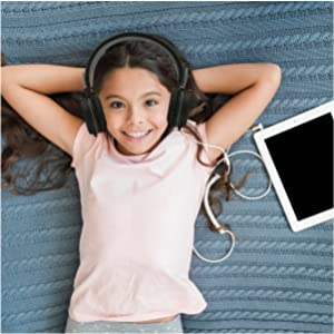 Headphones for kids teens perfect for family use gift headphones with volume control