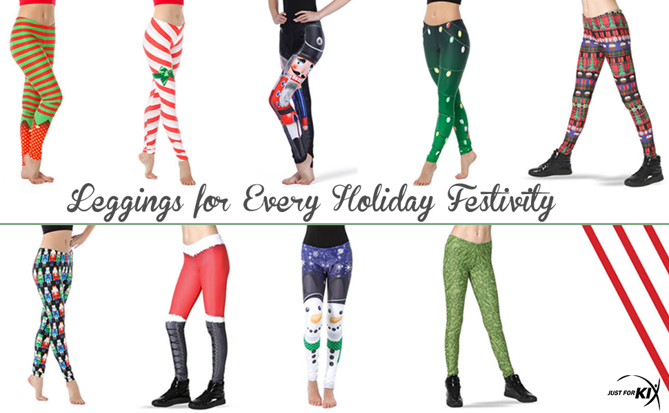 holiday leggings, candy cane legging, nutcracker legging, just for kix legging, festival legging