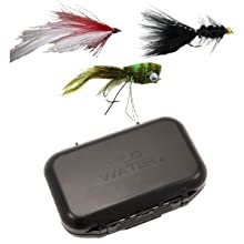 wild water fly fishing freshwater flies, small fly box, custom designed fly box