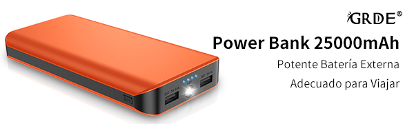 Power Bank 25000mAh