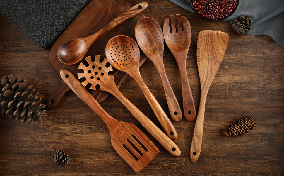NAYAHOSE WOODEN SPOONS