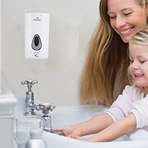 dolphy automatic hand wash soap sanitizer dispenser soap liquid touchless sensor wall mounted