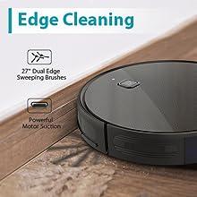 Smart robot vacuum